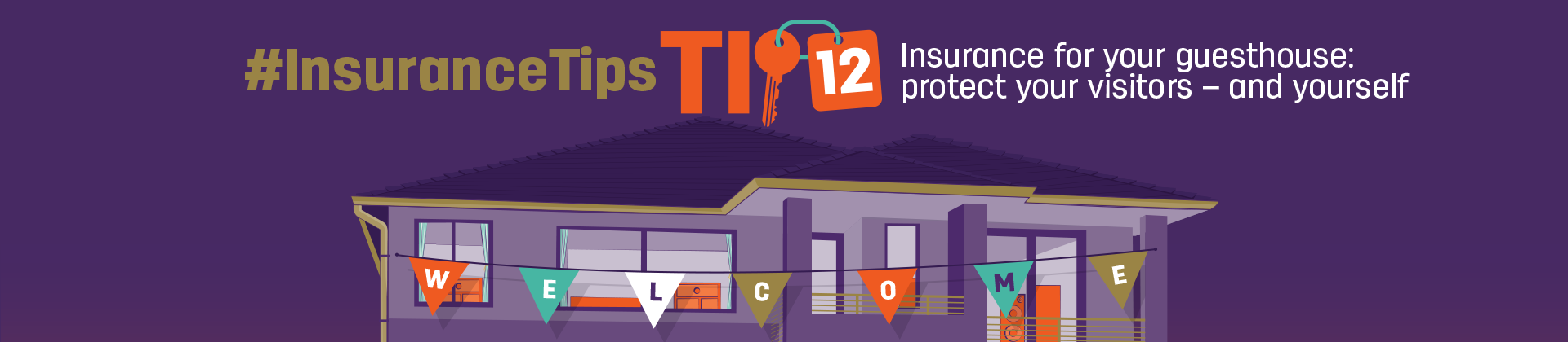 #InsuranceTips Tip 12: Insurance for your guesthouse: protect your visitors - and yourself